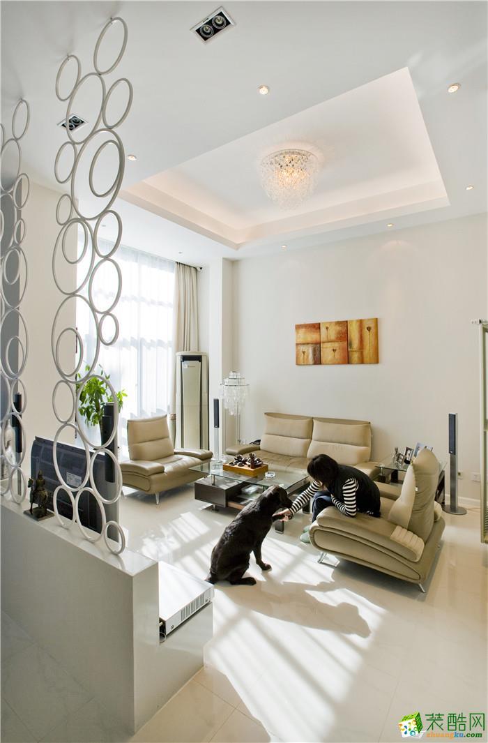 【居众装饰】融创勋爵堡115平米简约风格三居室