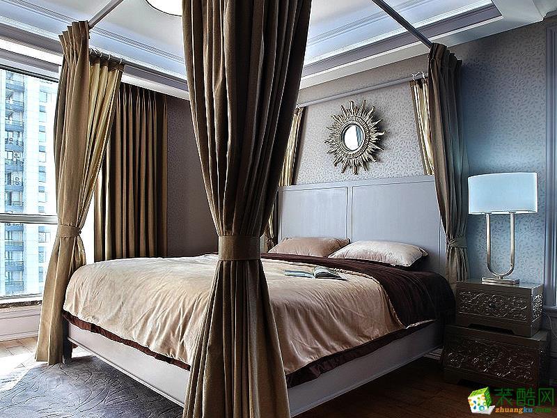 地中海四居室装修效果图-卧室装修效果赏析