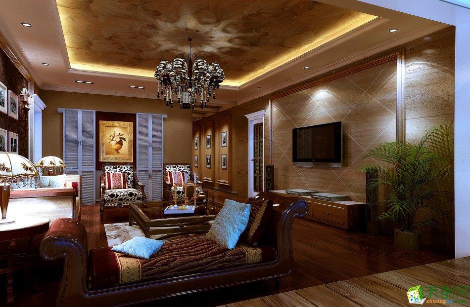 【几木装饰】180平米欧式风格跃层住宅装修案例图