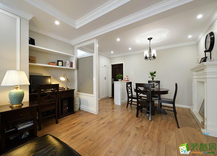 美式乡村两居室装修效果图-客厅装修效果赏析