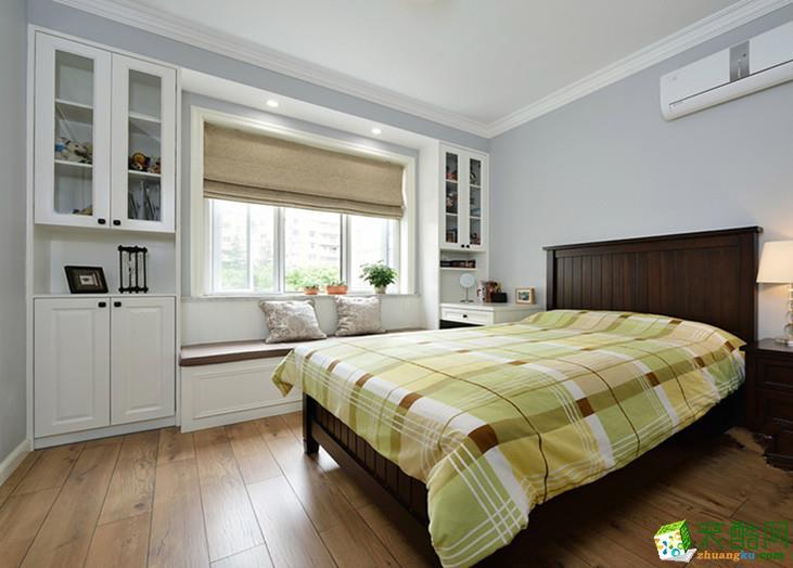 美式乡村两居室装修效果图-卧室装修效果赏析