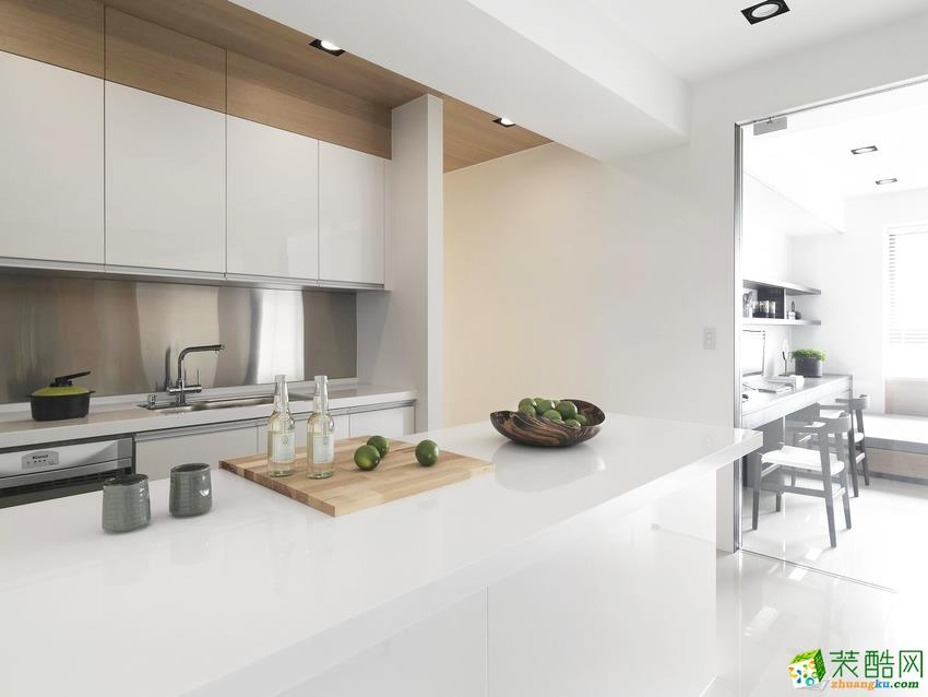 北欧三居室装修效果图-厨房装修效果赏析
