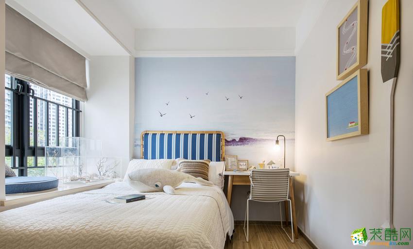 混搭两居室装修效果图-卧室装修效果赏析