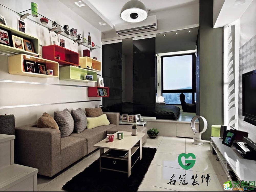 新華學府星座_38平混搭風單身公寓