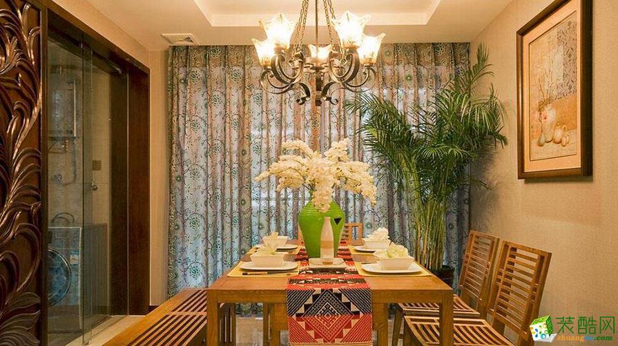 【奥诺装饰】银翔翡翠谷130平米东南亚风格三居室