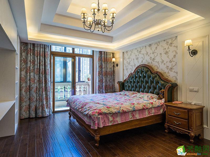 卧室 中式三居室装修效果图-卧室装修效果赏析 沈阳一方装饰-中式三居室装修效果图