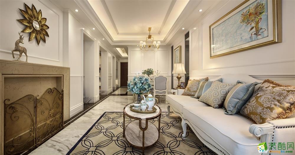 【业之峰装饰】现代风格|三室两厅