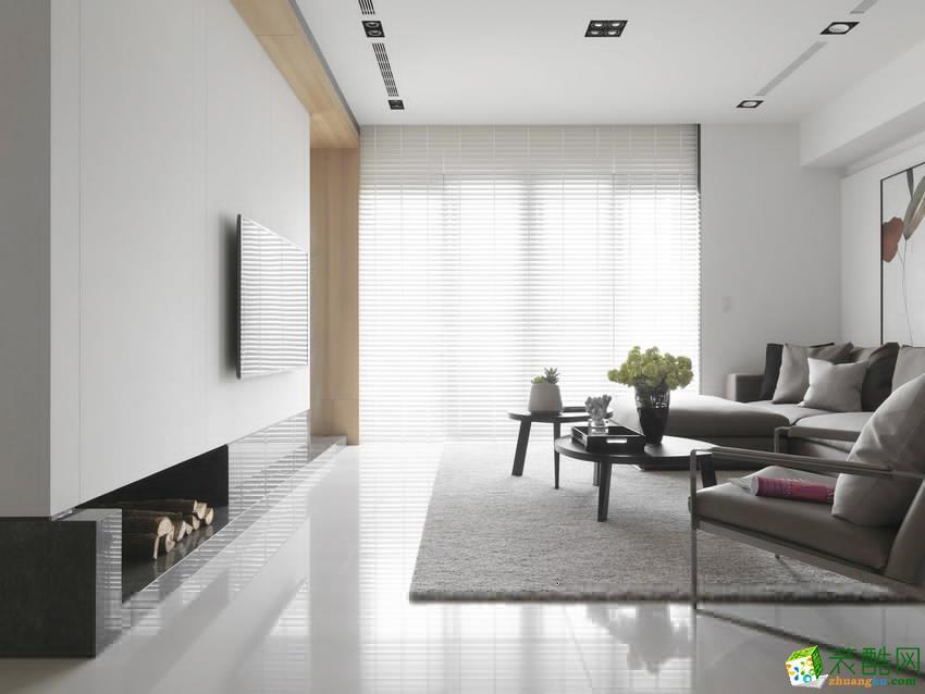 100平米北欧三居室装修效果图