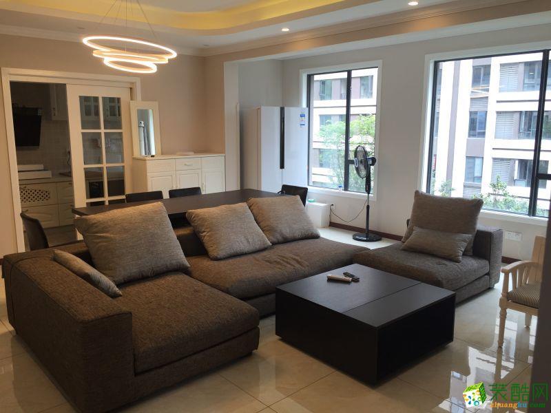 【奥诺装饰】兴亚沙滨国际108平米现代风格三居室装修案例图