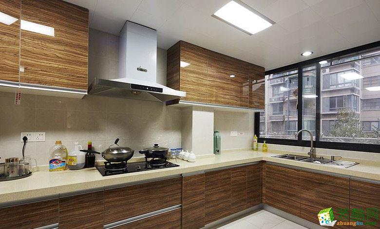 80平米现代简约两居室装修效果图