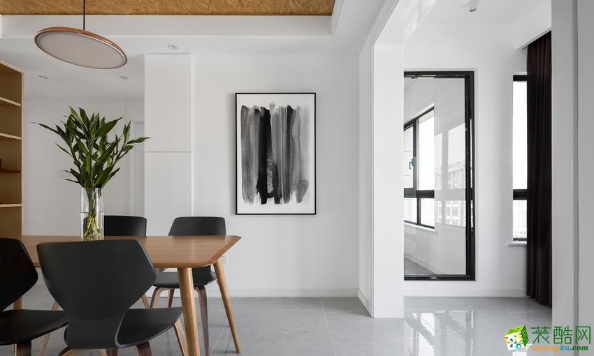 80平米现代两居室装修效果图