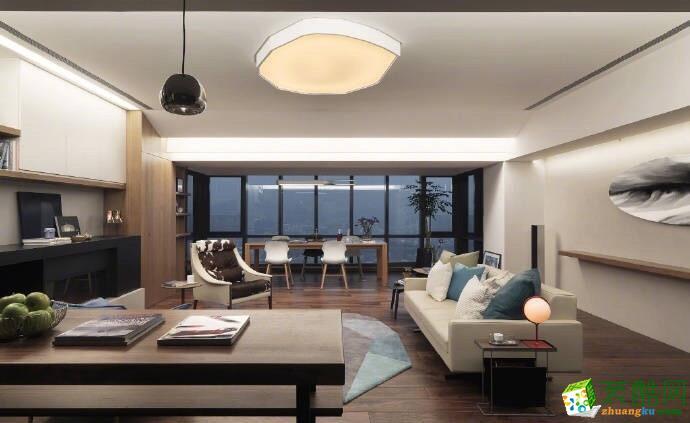 三室两厅|105平|现代风格|装修效果