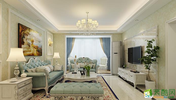 三室两厅|100平|中式风格|装修效果