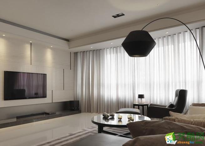 159平四居室现代风格装修效果图-予我装饰