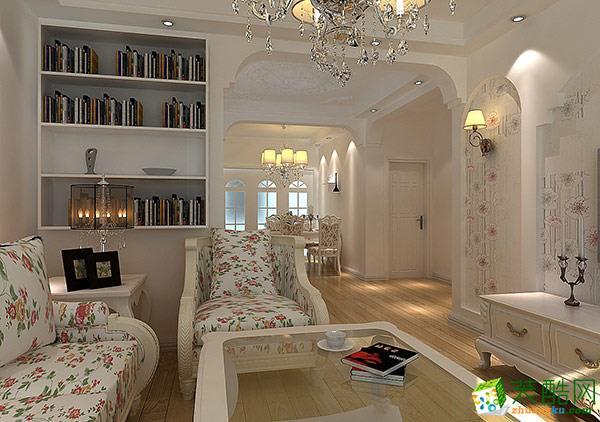 两室两厅|67平|美式风格|装修效果