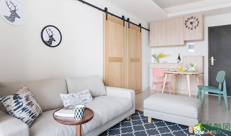 两室两厅|118平|现代风格|装修效果三室