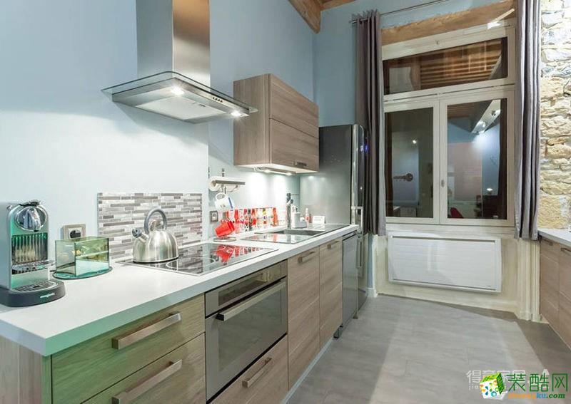 【艺翔空间】福星惠誉70�O极简风格两室一厅装修效果图