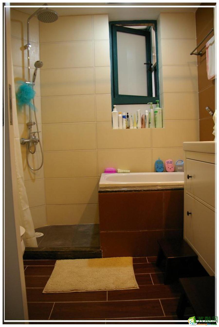 【空想家裝飾】照母山90平米韓式風格三居室裝修案例圖
