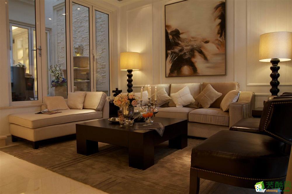 【金饰家装饰】160平米现代风格也跃层住宅装修案例图