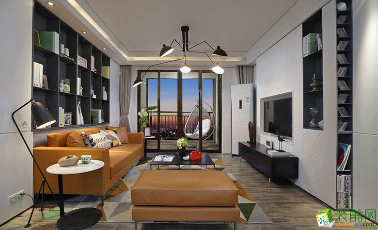【杭州柠檬树装饰】大塘新村70�O两室一厅简约风格装修效果图