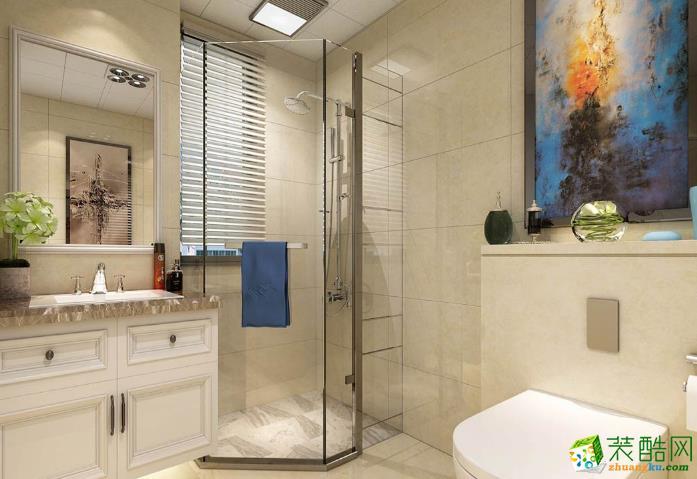 无锡金钥匙装饰-现代简约两居室装修效果图