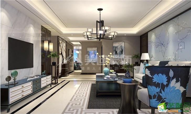 三室两厅 120平 现代风格 装修效果