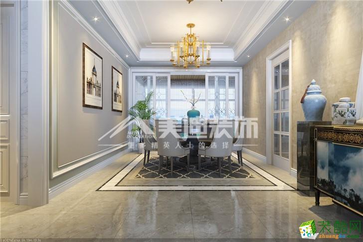 三室两厅 98平 中式风格 装修效果
