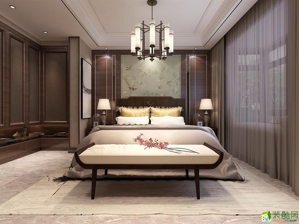 翰林国际128平米三居室效果图