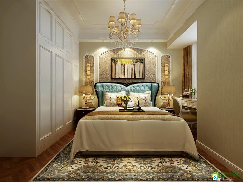 曼哈顿小区70平米两居室效果图