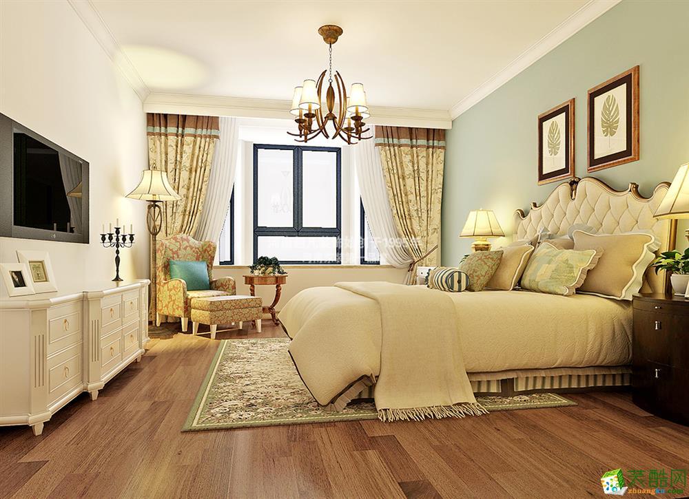 新乡泰晤士新城139平米三居室效果图
