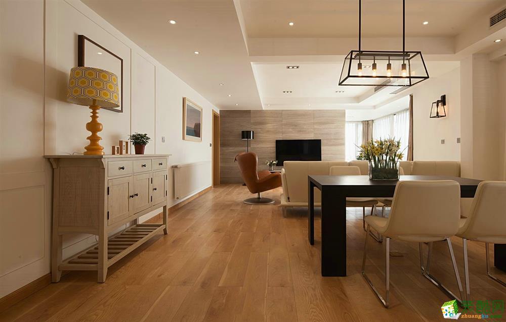 【千友居装饰】106平米现代风格三居室装修案例图赏析。