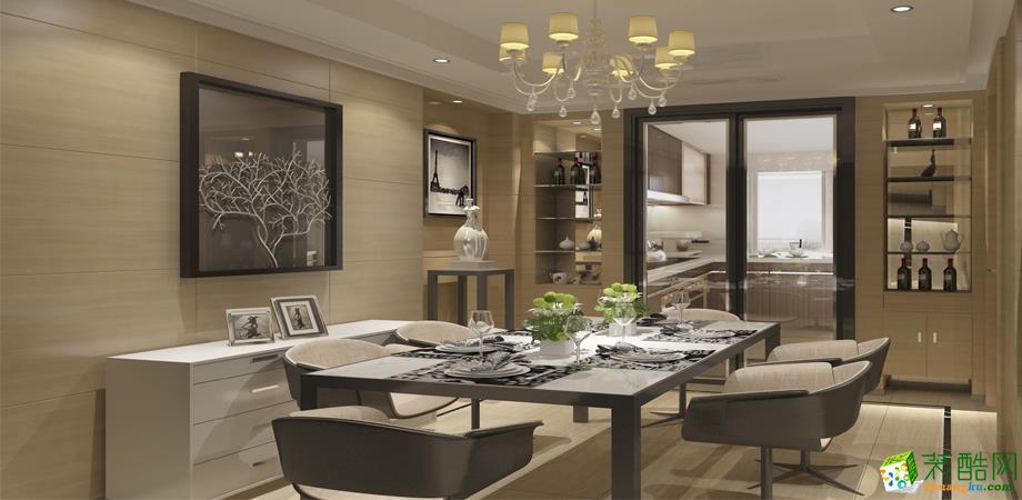 【杭州贝力装饰】126�O现代简约风格三室两厅装修效果图