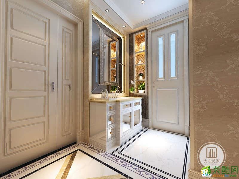 正商红河谷简欧风格三居室装修案例