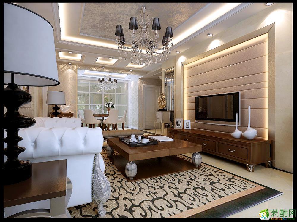 盛世华庭-两居室-欧式风格