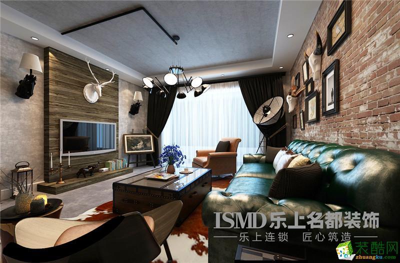 【乐上名都装饰】瀚唐三期85㎡现代风格两室两厅装修效果图