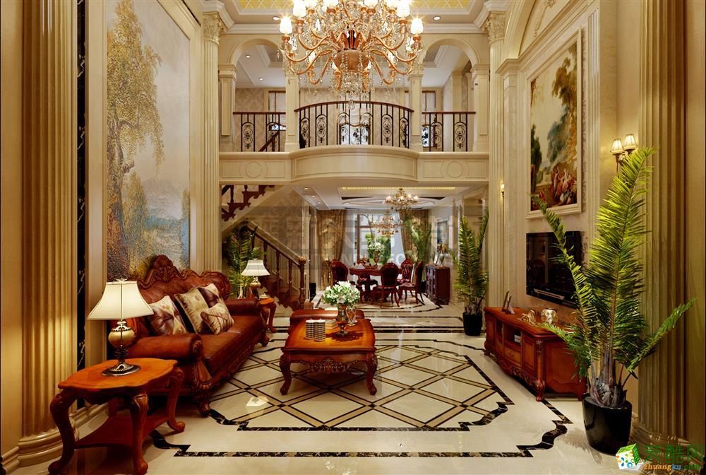 【新天第装饰】卓达明郡210�O四室两厅欧式风格装修效果图
