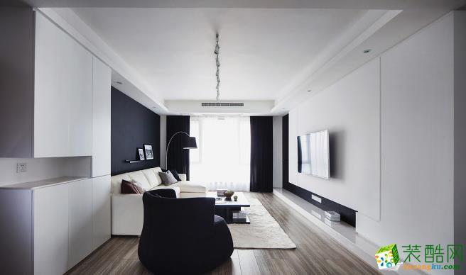 客厅 140平四居室现代风格装修效果图-客厅赏析 140平四居室现代风格装修效果图-鼎耀佳装饰