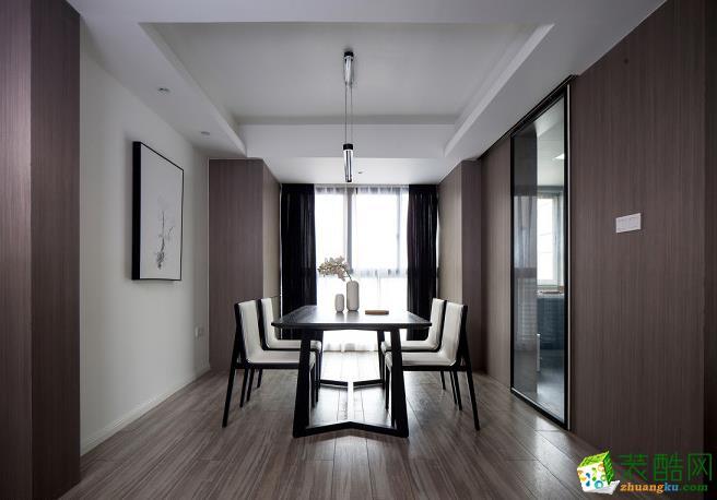 餐厅 140平四居室现代风格装修效果图-餐厅赏析 140平四居室现代风格装修效果图-鼎耀佳装饰