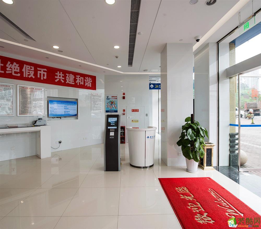 【瀚方装饰】三峡银行200平米现代风格银行装修案例图