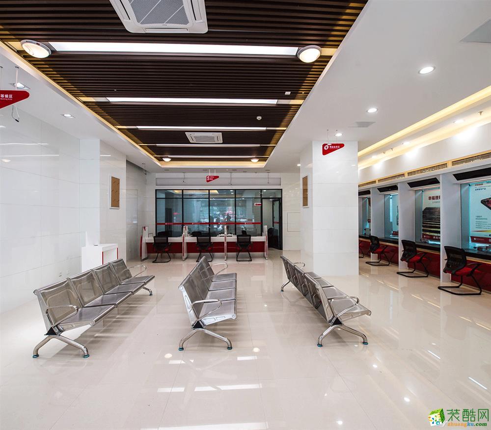 【瀚方装饰】重庆农商银行300平米银行装修案例图
