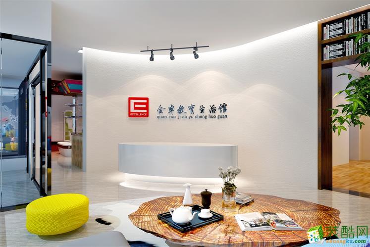 【阔达装饰】天星商务培训中心办公室装修效果图