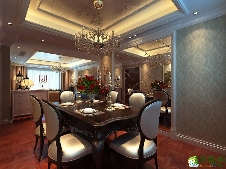 安徽鲁公大宅装饰工程有限公司-三室两厅两卫