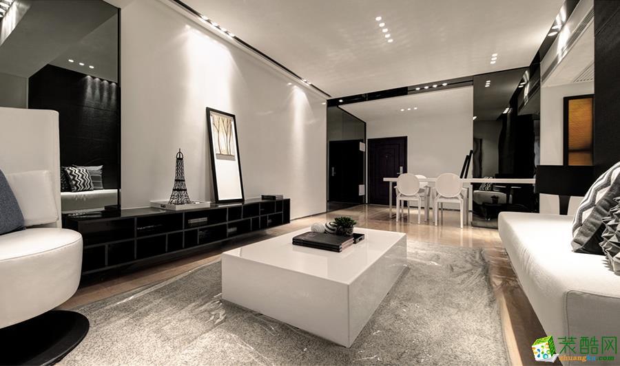 【龙头装饰】中德英伦联邦138平米现代三居室装修案例图