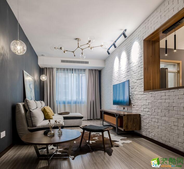 【千思裝飾】恒文星尚灣120㎡內哦風格三居室裝修案例圖