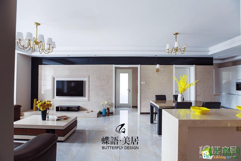 【蝶语美居】万和国际130方四室两厅现代装修效果图