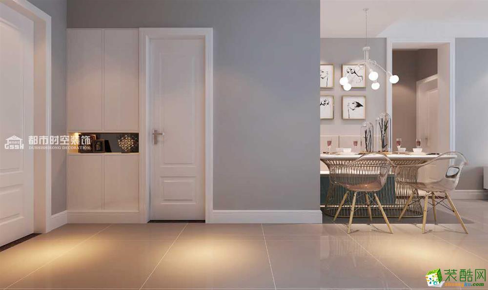 博名繁华里现代风格二居室装修案例图
