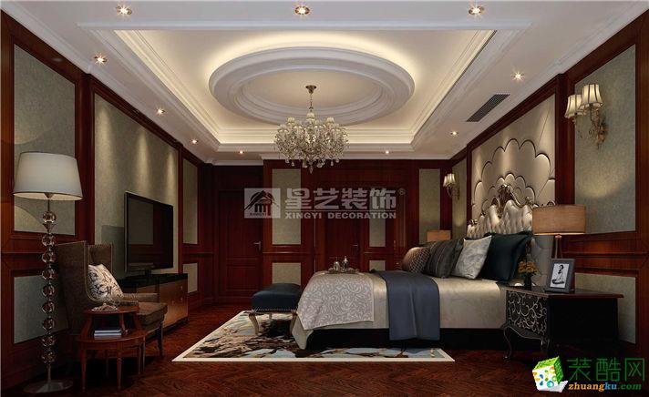 【富阳星艺】大源400方简欧风格自建别墅装修效果图