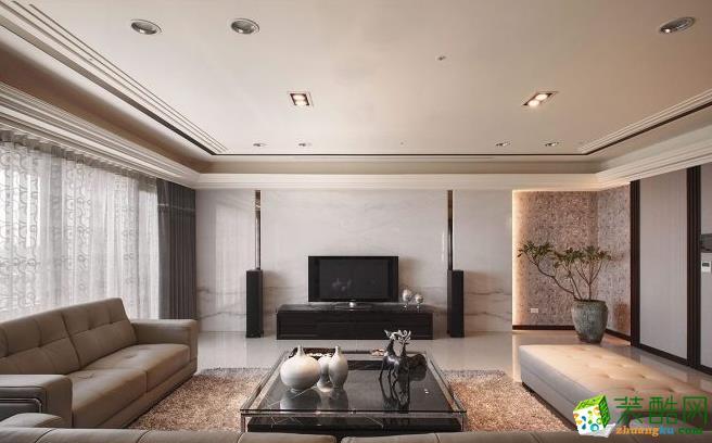 >> 212平四居室现代风格装修效果图-石头装饰