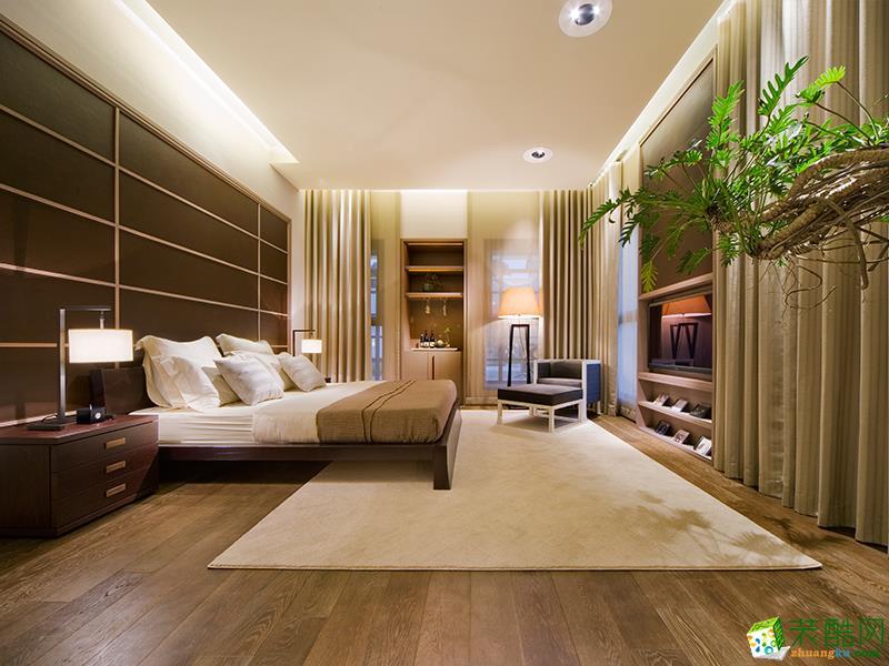 >> 【尚層裝飾】帕緹歐香苑116平米現代簡約風格三居室裝修案例圖
