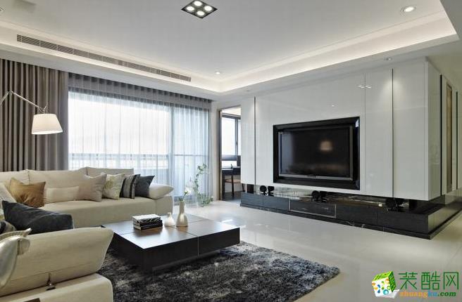 157平四居室现代风格装修效果图-大拇指装饰